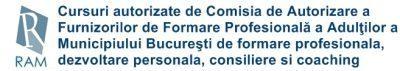RAM-INFO TRAINING- centru de formare profesională autorizat de Comisia de Autorizare a Furnizorilor de Formare Profesională a Adulţilor a Municipiului Bucureşti